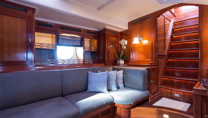 Emmaline yacht interior