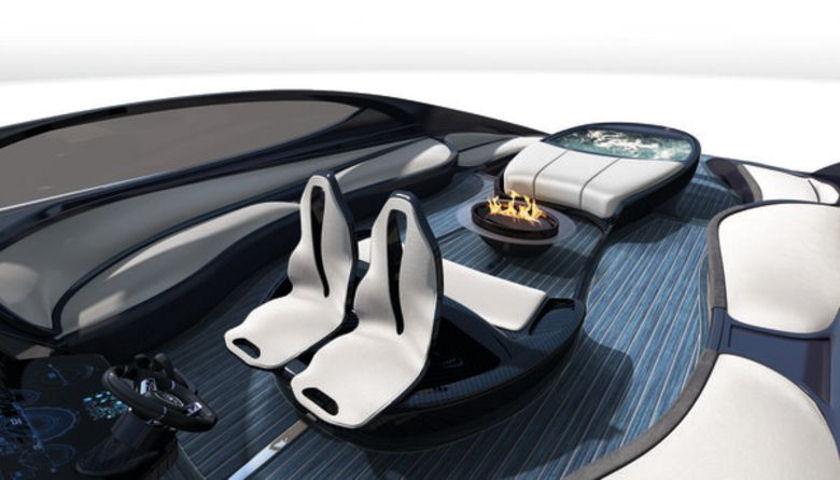 Bugatti Chiron yacht