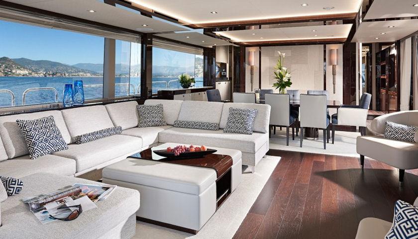 Sunseeker 95 yacht salon