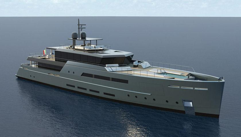 Baglietto 55-metre concept