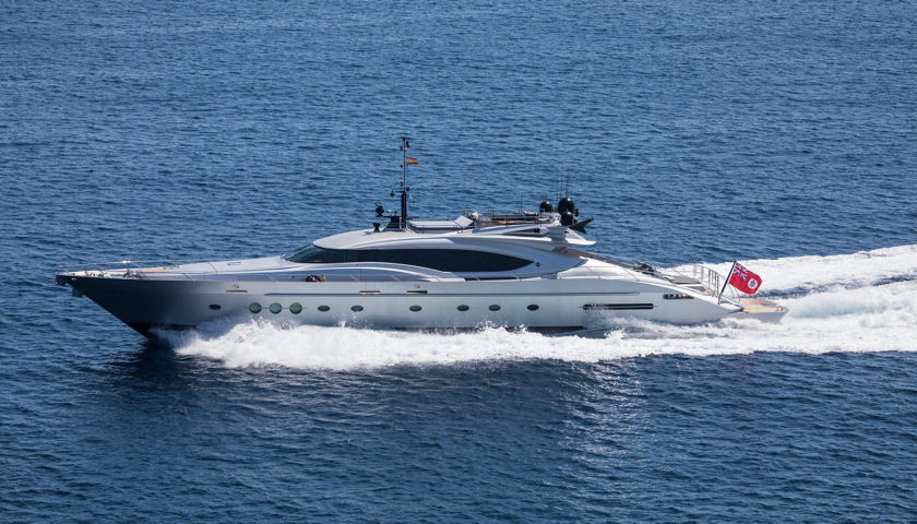Hush yacht exterior