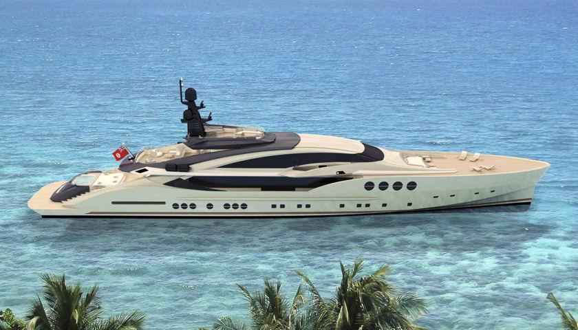 PJ 210-2 yacht