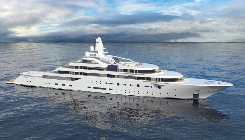 Project Atom superyacht
