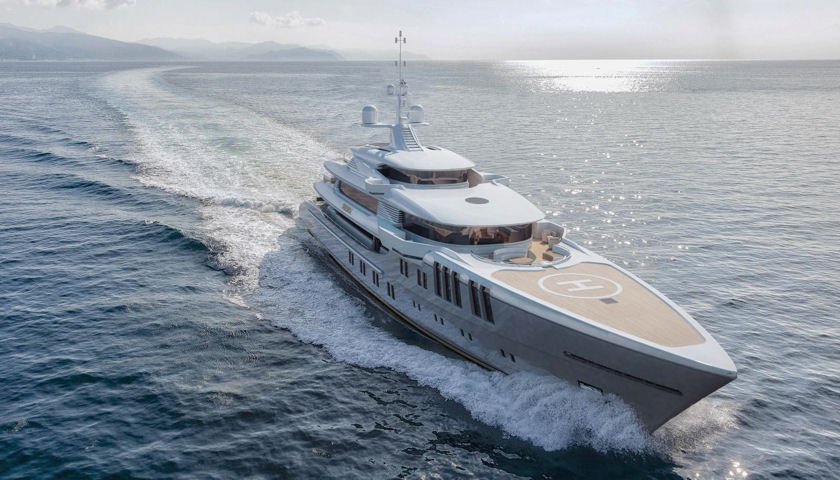 Project Zenith superyacht