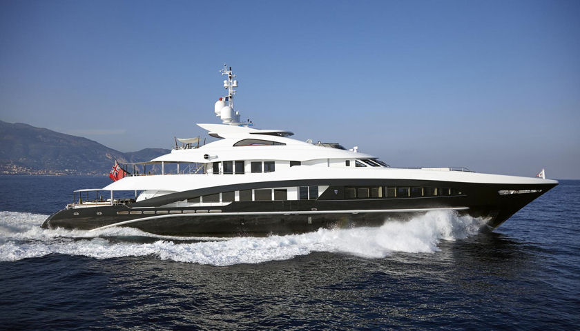 50m 164 superyacht rocket for sale 24 5m euros for Angel boats and motors