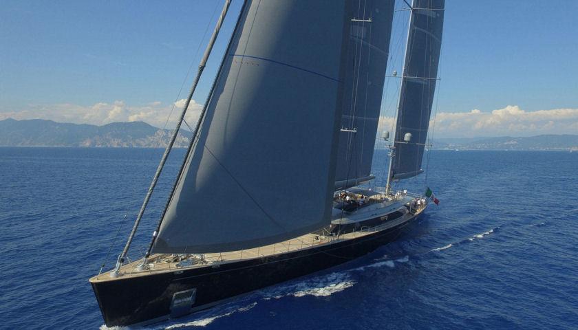Sybaris sailing yacht
