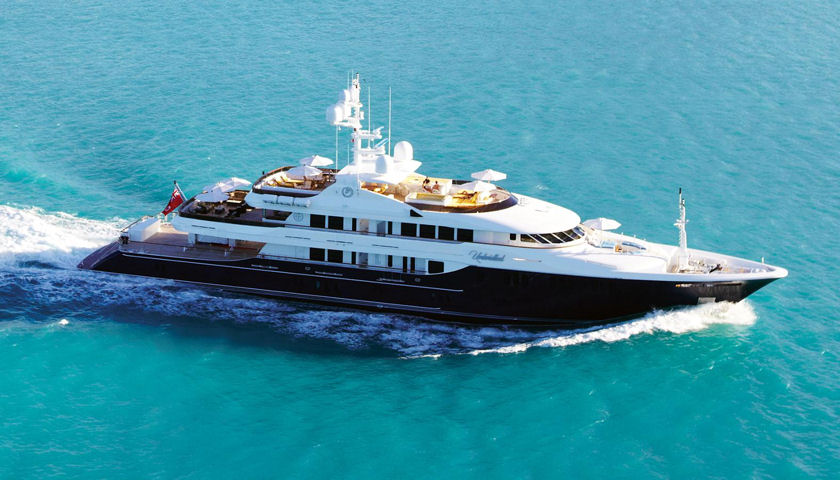 191 Unbridled Yacht For Sale 30 Million Superyacht Magazine