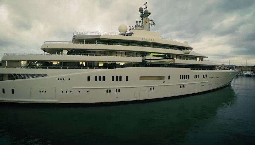 Eclipse yacht exterior