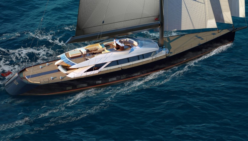 Troy sailing yacht