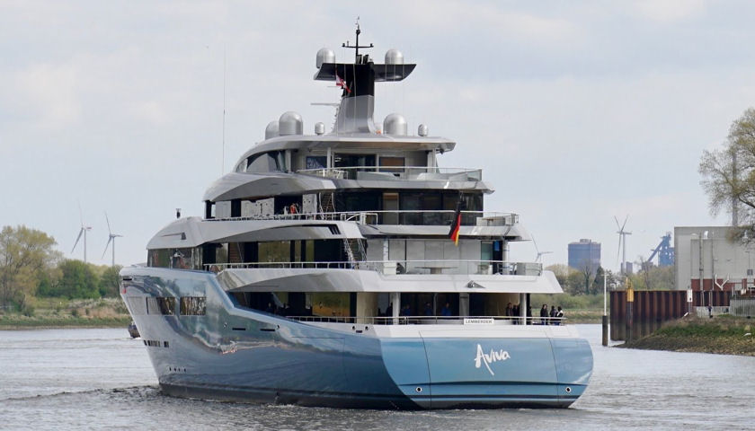 Aviva superyacht