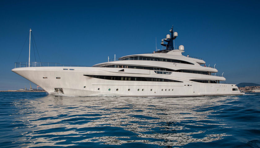CRN Cloud 9 superyacht