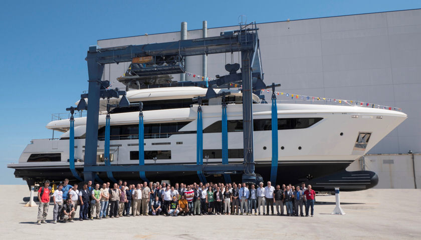 Custom Line Navetta 37n3 launch