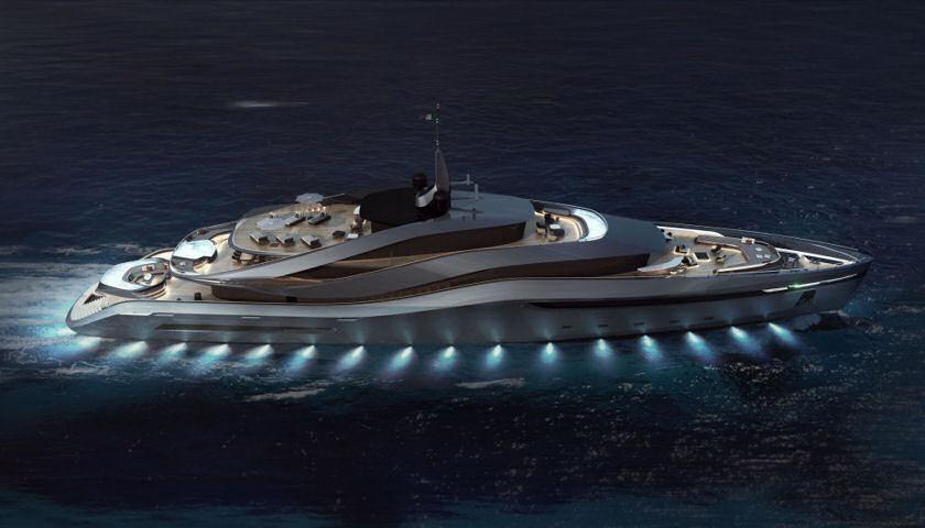 Aurea Superyacht Concept