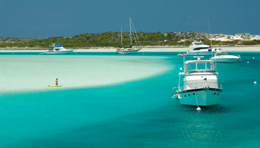 Bahamas boating