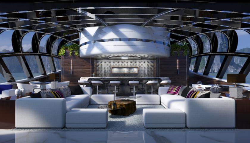 Oceanco Cosmos superyacht concept
