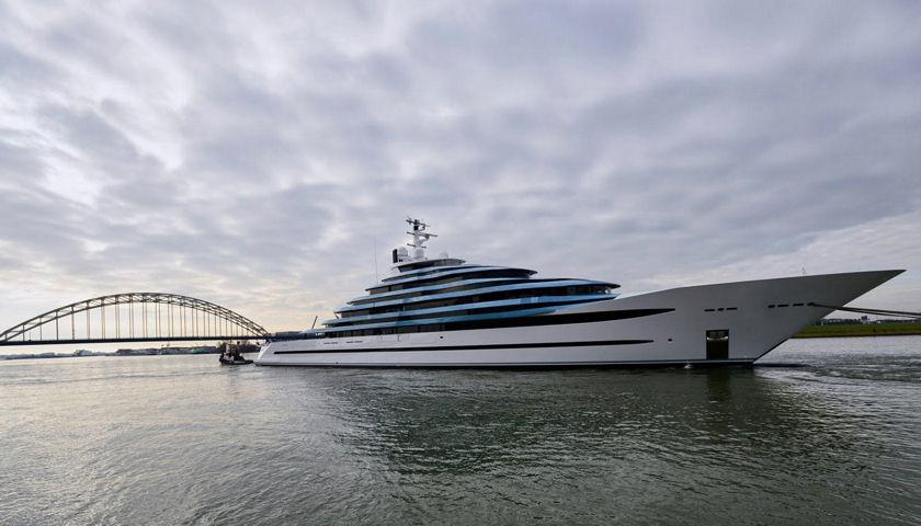 Oceanco superyacht Jubilee