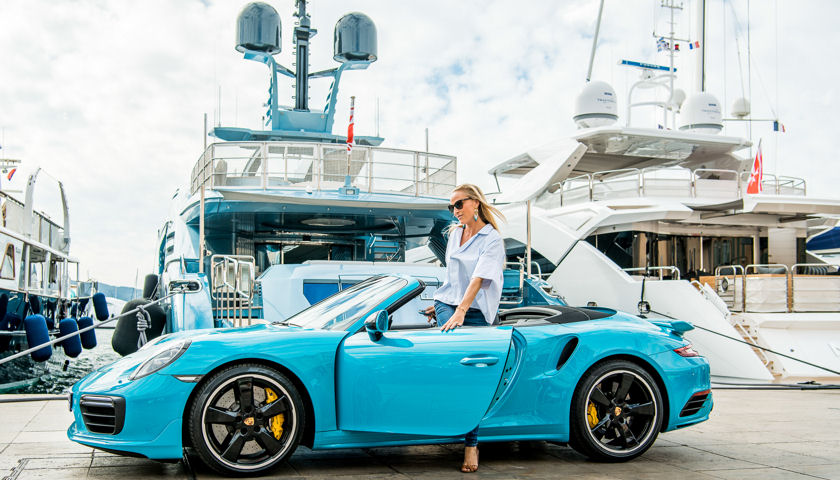 Fraser Yachts Partners with Porsche