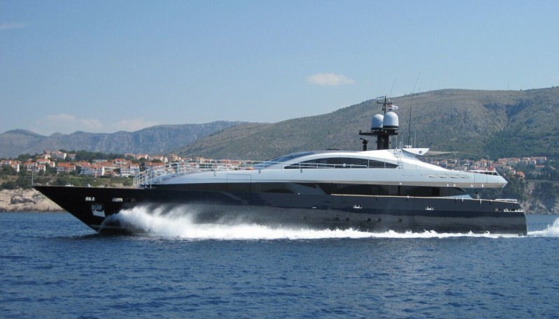 Lucky Me superyacht