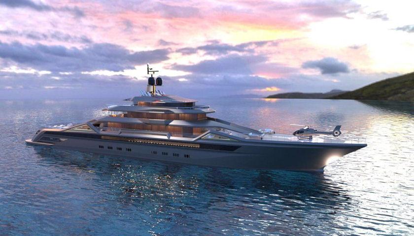 Roberto Curto yacht concept