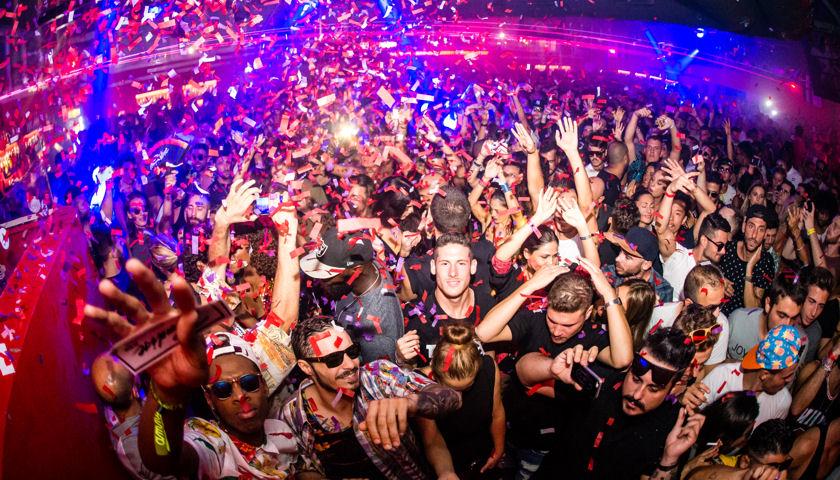Paradise Ibiza party