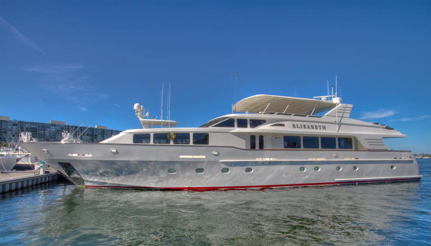 Trinity yacht Elizabeth