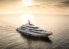 CRN Introduces Brand New 242'/74m Superyacht, Cloud 9