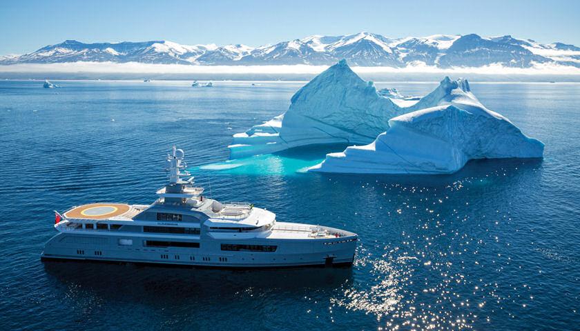 Abeking and Rasmussen CLOUDBREAK in Antarctica