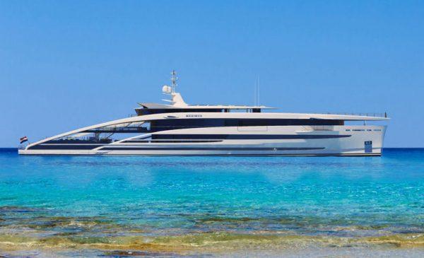 Heesen Reveals Largest Superyacht Design, 272ft/83m Project Maximus