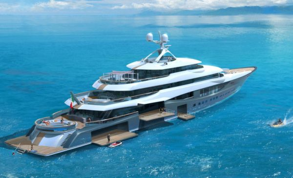 Linea, the 90m/295ft Superyacht Concept