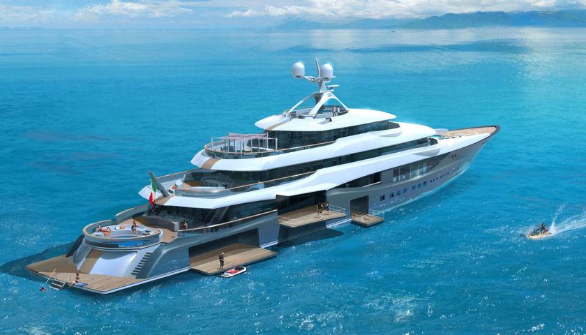 Linea superyacht concept