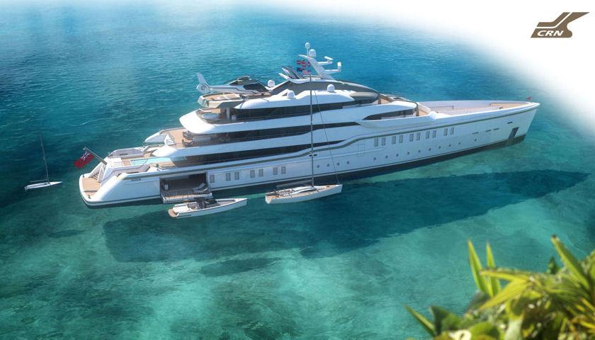 CRN Explorer yacht