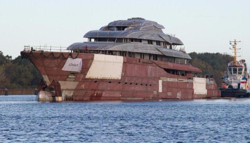 Project MAUI superyacht