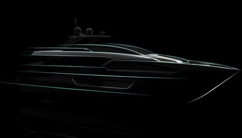 Riva 90 yacht design