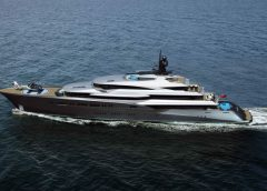 Oceanco's 302ft Superyacht Concept Lumen is Painted in Diamonds