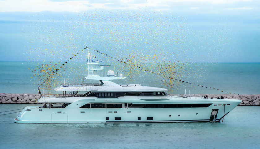 CRN Latona Superyacht launch