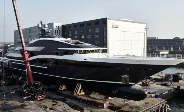 Oceanco Launches 295-foot Superyacht Project Shark