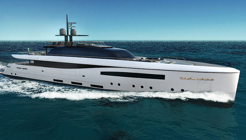 Baglietto reveals new 50 metre Santa Maria Magnolfi concept