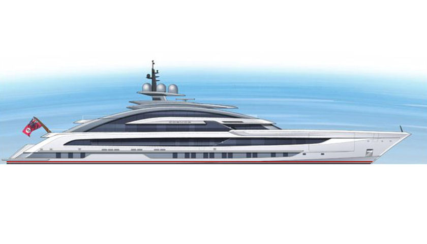 Project Cosmos superyacht