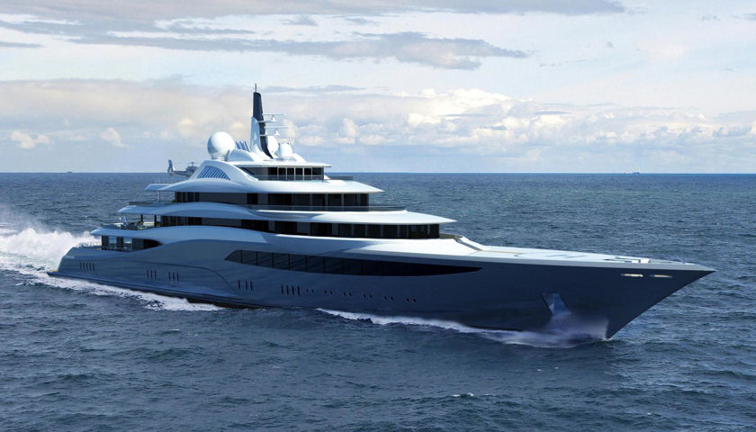 Project Infinity superyacht