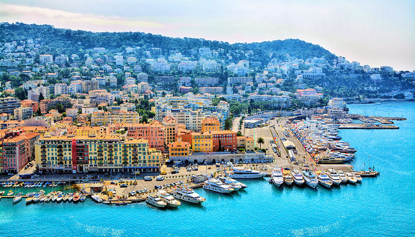 French Riviera yachting