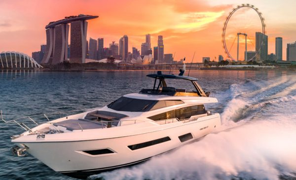 Ferretti Group reveals fantastic 6-yacht fleet at Singapore Yacht Show