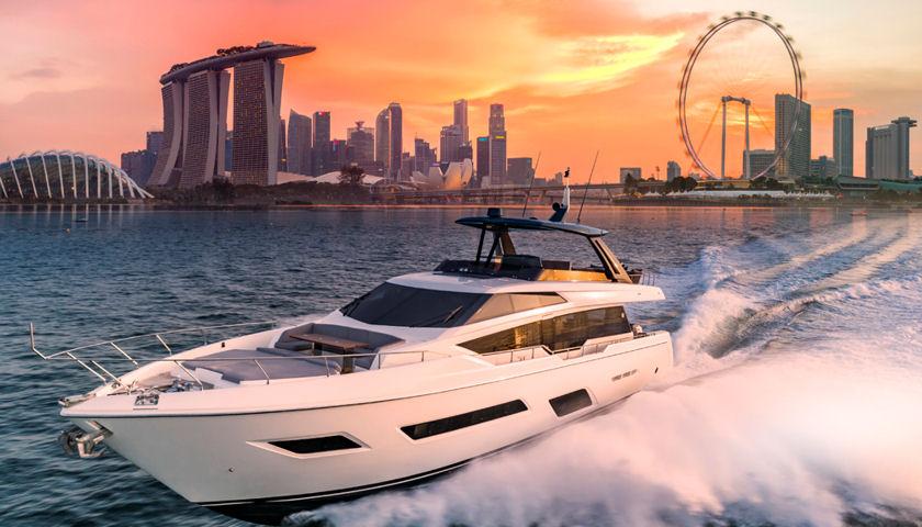 Ferretti Yachts 780 THB Asian Premiere