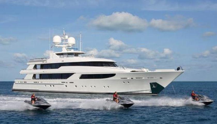 Hospitality superyacht
