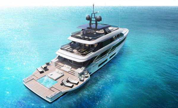 Benetti Introduces New 41m Oasis 135 Superyacht