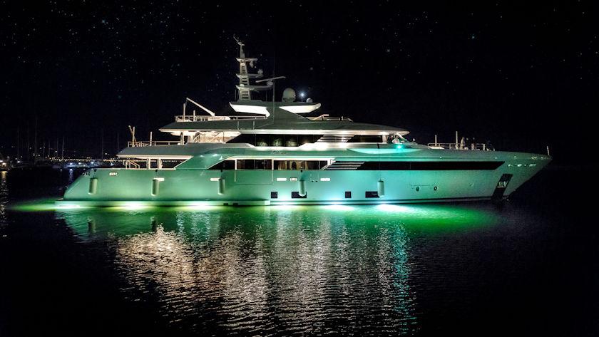 CRN Latona superyacht