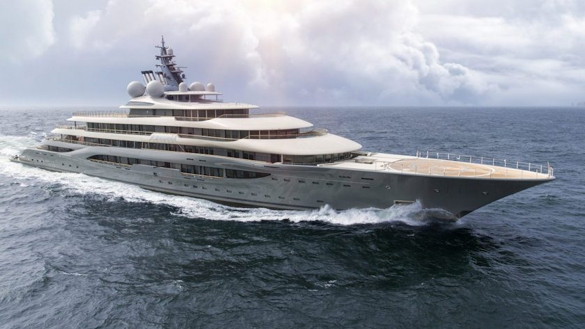 Lurssen project SHU superyacht