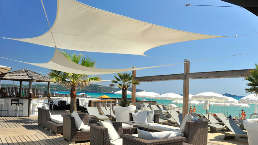 St Tropez beach