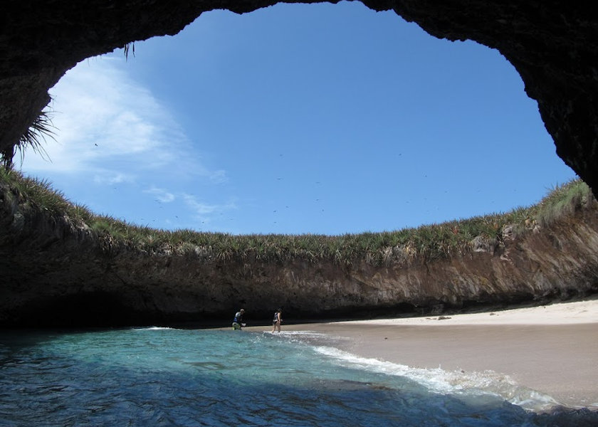 crater beach