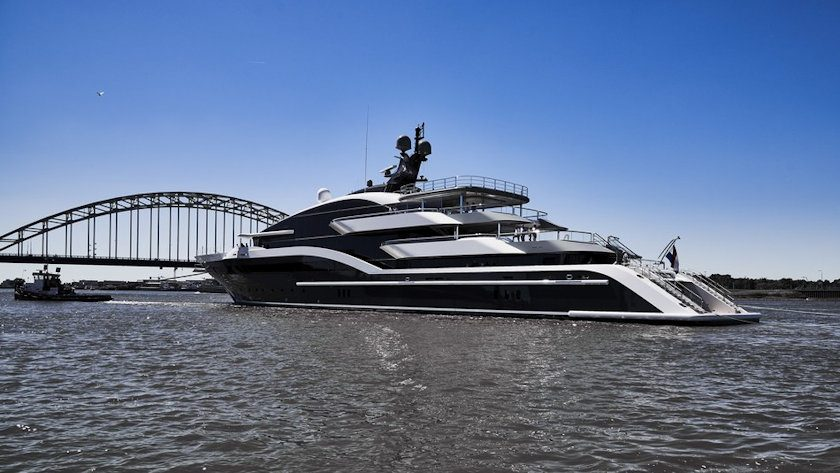 Project Shark superyacht