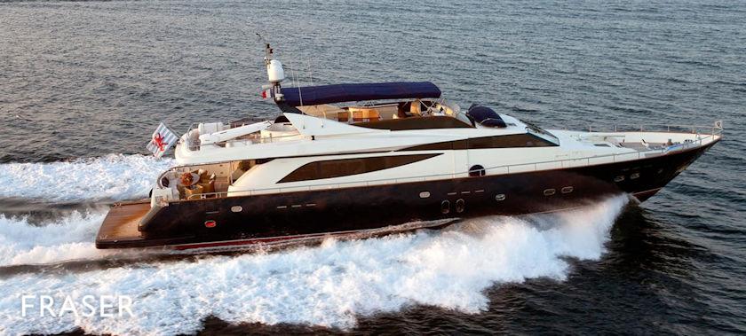 Adelante yacht